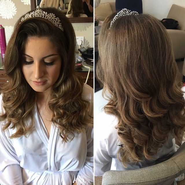 Princess hair for the bride on saturday by meldropskenny ourhellip