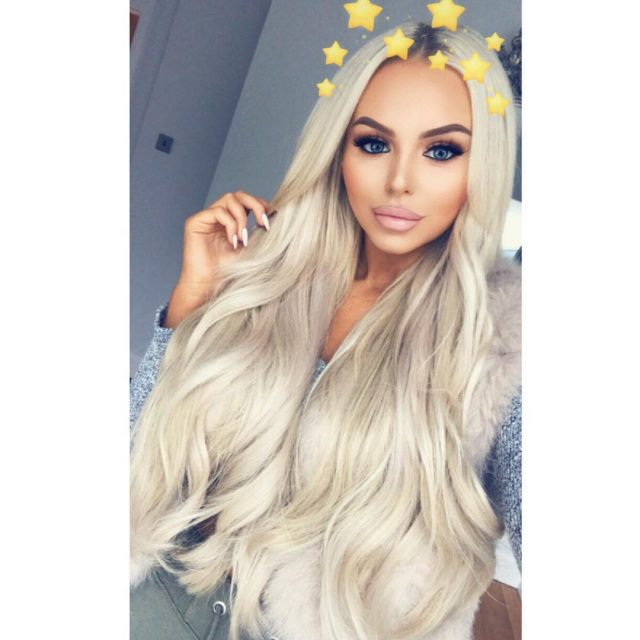 Absolute hair goals with our bae everyday pollymarchant how beauthellip
