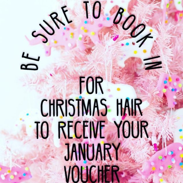 Have you booked your Christmas hair yet? Every Booking fromhellip